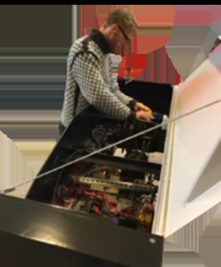 Scanmek robot