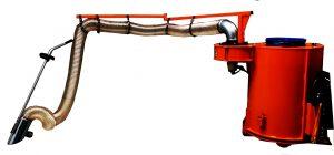 En Løvsuger fra ScanMek er et godt redskab til en minilæsser. Den bruges især i Boligforeninger, på Kirkegårde og i Parker.